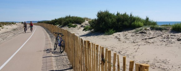 piste cyclable marseillan-plage camping le galet