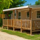 mobil-home 3 chambres le galet 6 couchages