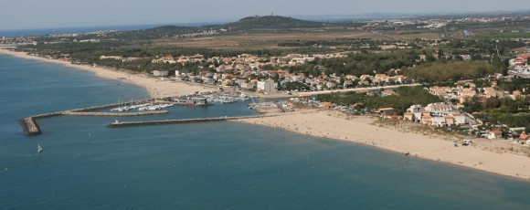 marseillan-plage station balnéaire camping le galet