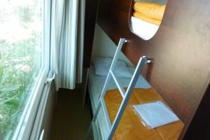 mobil-home M 2 chambres lits superposés