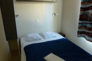 Grande chambre mobil-home marseillan-plage