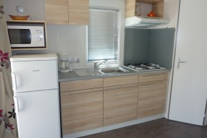 cuisine camping le galet marseillan-plage mobil-home