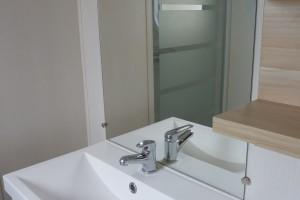 salel de bain mobil-home camping le galet