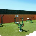 fitness camping le galet marseillan-plage