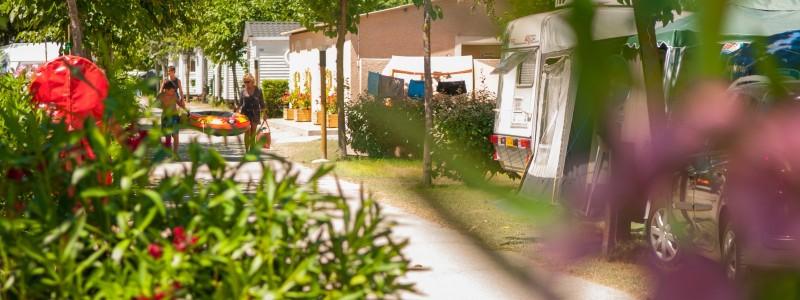 Emplacements camping dans l'Hérault
