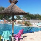 piscine chauffée camping le galet